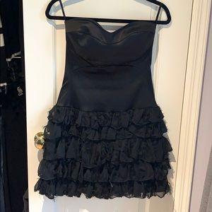 Alexia Admor Black Strapless Dress Size Medium